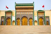 Moroccan palace at fez