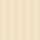 Seamless Background Of Vertical Strips Of Curls Beige Shades.