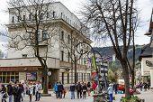 Building Of Polish Post Office In Zakopane