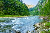 foto of pieniny  - The Dunajec River Gorge - JPG