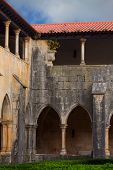 BATALHA, PORTUGAL - 5 JANUARY:The yard of the Dominican monastery of Santa Maria da Vitoria
