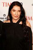 NEW YORK-APR 29: Performance artist Marina Abramovic attends the Time 100 Gala for the Most Influent