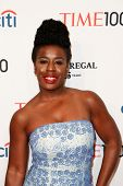 NEW YORK-APR 29: Actress Uzo Aduba attends the Time 100 Gala for the Most Influential People in the