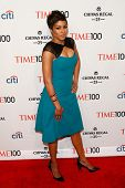 NEW YORK-APR 29: TV host Alicia Quarles attends the Time 100 Gala for the Most Influential People in