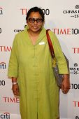 NEW YORK-APR 29: Sex trafficking abolitionist Ruchira Gupta attends the Time 100 Gala for the Most I