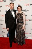 NEW YORK-APR 29: Associate Professor John M. Kovac and guest attend the Time 100 Gala for the Most I