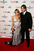 NEW YORK-APR 29: Singer Carrie Underwood & husband Mike Fisher attend the Time 100 Gala for the Most