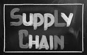Supply Chain Concept