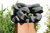 Vilnius City Sculpture To Remember Salomeja Neris