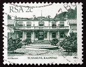 Postage Stamp South Africa 1982 Tuynhuys, Kaapstad (cape Town)