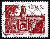 Postage Stamp South Africa 1982 Die Kasteel, Kaapstad