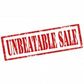 Unbeatable Sale-stamp
