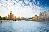 Kotelnicheskaya embankment on Moscow river