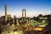 Temple Of Apollo Ruins In Didyma Antique City Turkey 2014