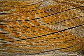 Orange Painted Rift Wood