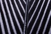 Striped Background From Woolen Fabric