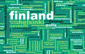 Finland Helsinki as a Abstract Concept Art