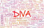 foto of diva  - Diva Crazy Attitude as a Art Concept - JPG