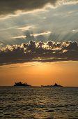 Sunset in crna Gora
