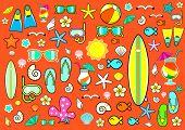 Summer symbols