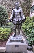 Miguel De Cervantes Statue, New York City