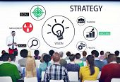 Diverse People in a Seminar About Strategy