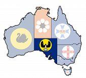 South Australia On Map Of Australia