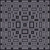 Seamless Cassette Pattern