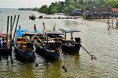 Fishing Boats At The Island's People