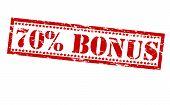 Seventy Percent Bonus