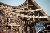 pic of shacks  - Old falling down fishing shack in Nova Scotia