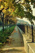 Autumn vintage Quay