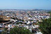 White town, Velez Malaga.