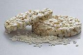Puffed Rice Cake