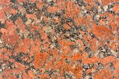 Mottled Black And Red Granite Texture