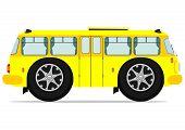 pic of motor coach  - Funny bus - JPG