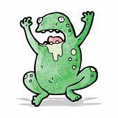 gross cartoon frog