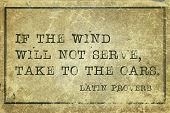 stock photo of proverb  - If the wind will not serve take to the oars  - JPG