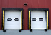 Loading Dock of an Industrial Distribution Warehouse