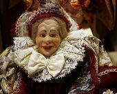 Venetial lady doll
