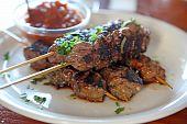 Lowfat Fleisch Rindfleisch Spieße