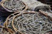 image of dreamcatcher  - Photo of Dreamcatchers in the process of their creation