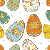stock photo of easter card  - Happy Easter - JPG