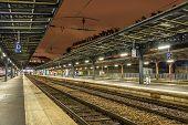 stock photo of gare  - Platforms of the Paris - JPG