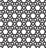 foto of celtic  - Celtic seamless pattern with swatch for filling - JPG