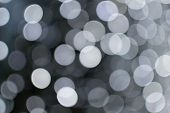 pic of fairies  - Many blurred white celebration fairy lights create abstract patterns - JPG