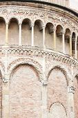 picture of pilaster  - detail of Parma Cathedral - JPG