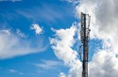 pic of antenna  - Antennas on mobile network tower - JPG
