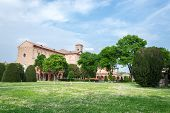 pic of graveyard  - Certosa of Ferrara the ancient graveyard of the city - JPG