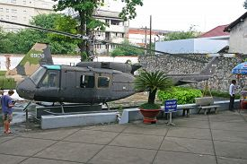 stock photo of helicopters  - HO CHI MINH CITY VIETNAM  - JPG